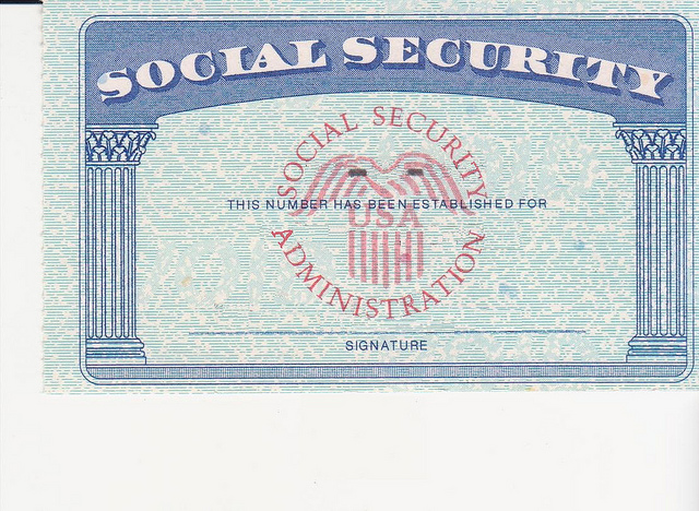 Social Security Card Template | shatterlion.info