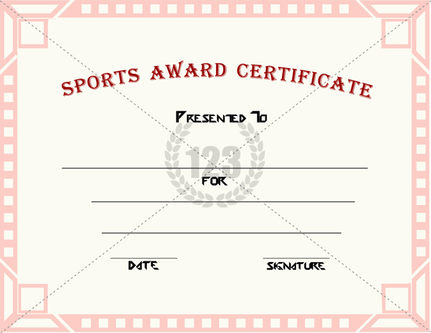 Sports awards templates yelopaper Images