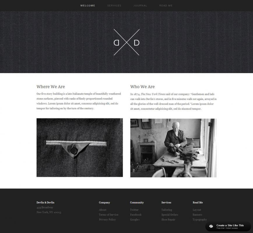 squarespace video template