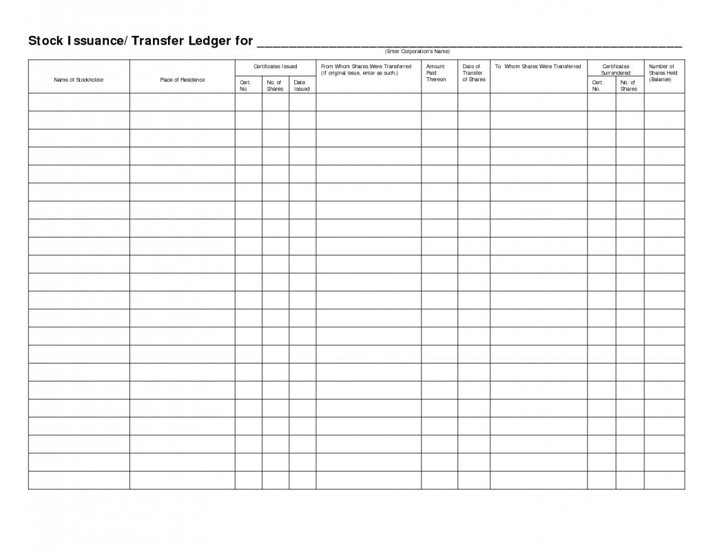 Stock Ledger Template Shatterlioninfo Stock Ledger Template Stock  Certificate Ledger Template 681915 Stock Ledger Template  Ledger Template Free
