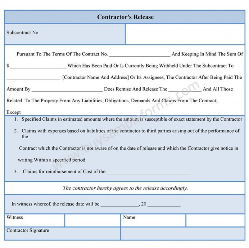Subcontractor Agreement Template | shatterlion.info