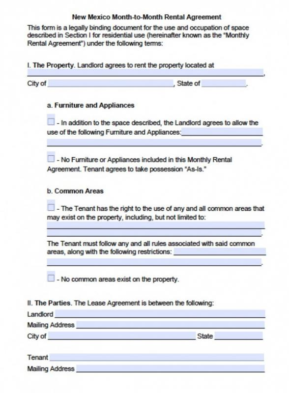 sublease agreement template