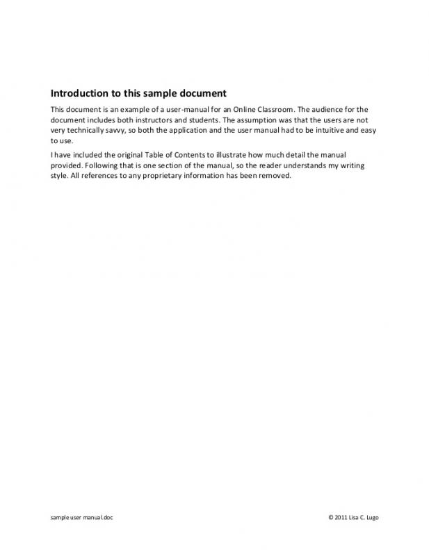 technical documentation template