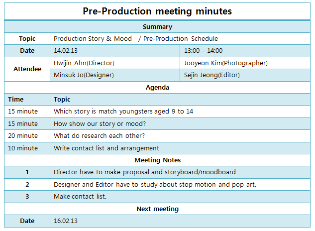 time and materials template