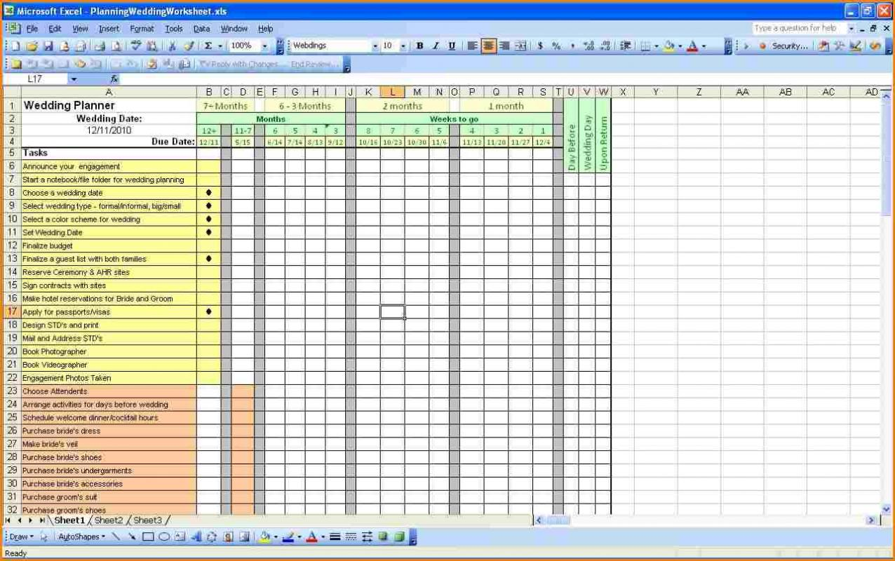 To Do List Excel Template Xls