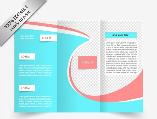 google pamphlet template