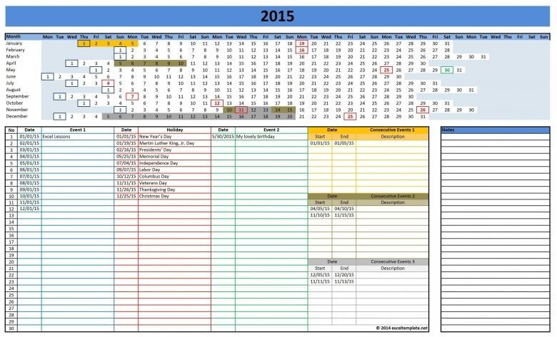 Vacation schedule template shatterlionfo vacation schedule template maxwellsz