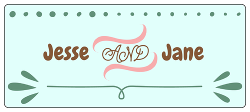 wedding address labels template