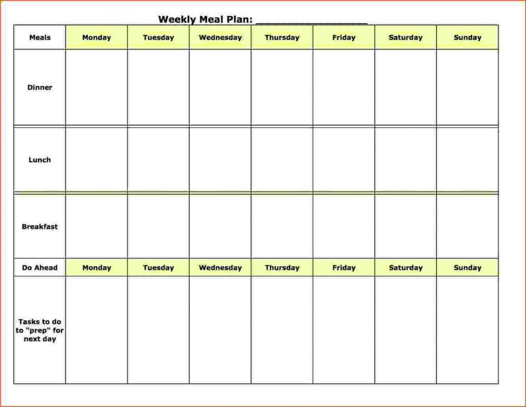 Weekly Lesson Plan Template Word | shatterlion.info