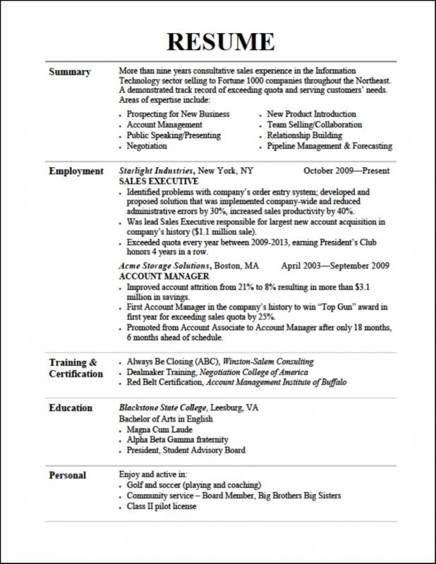 Word Resume Template Mac  ShatterlionInfo