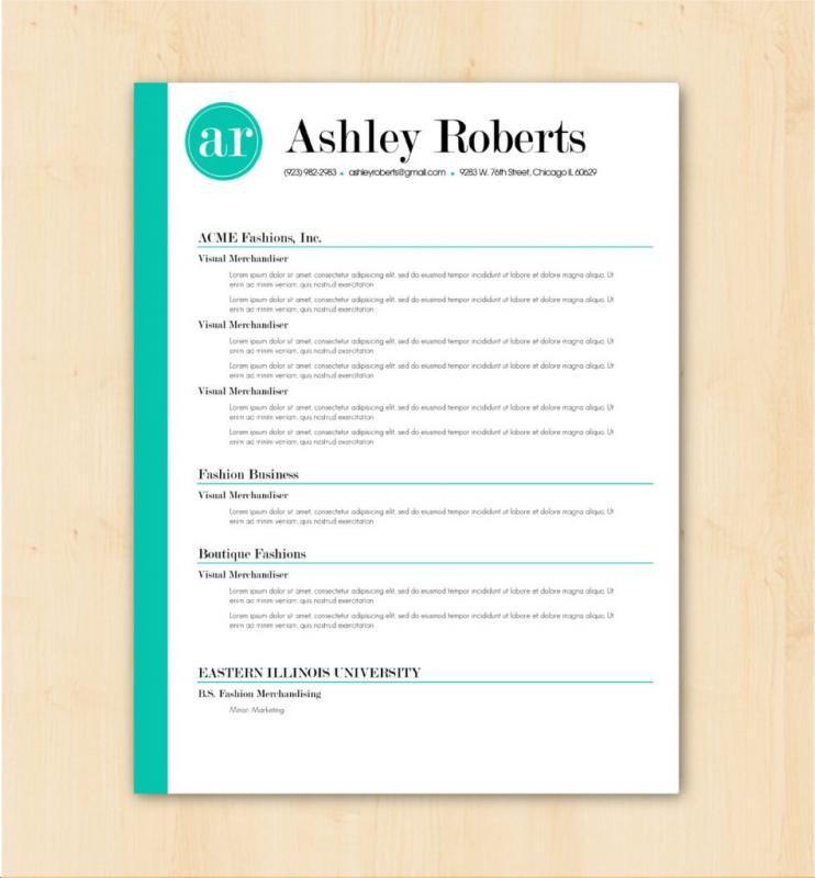 word resume templates 2017