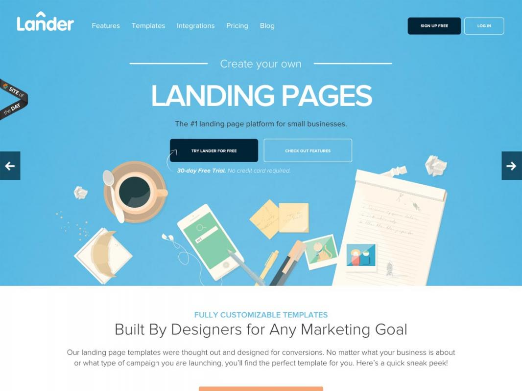 Wordpress Landing Page Template Shatterlion Info