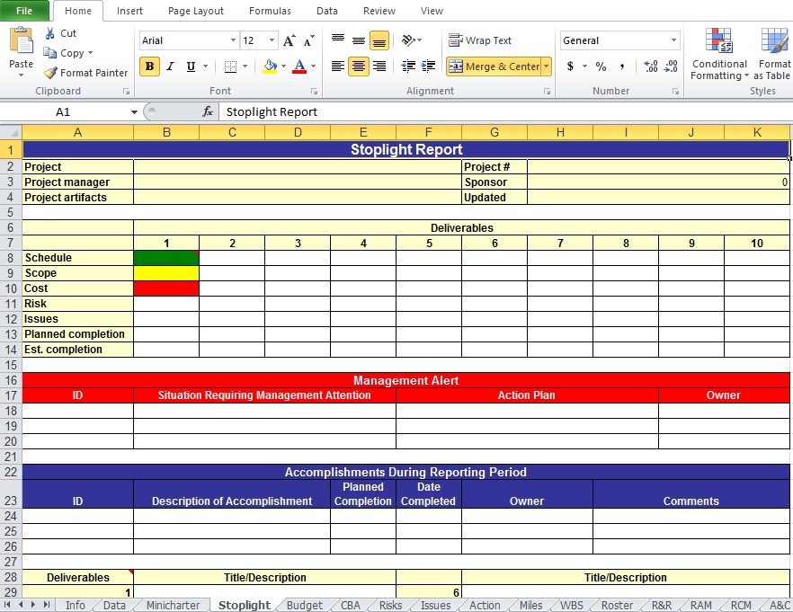 work plan template excel