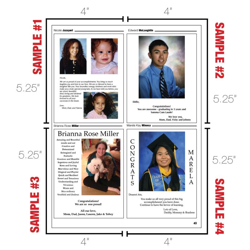 yearbook page template free - yearbook page templates