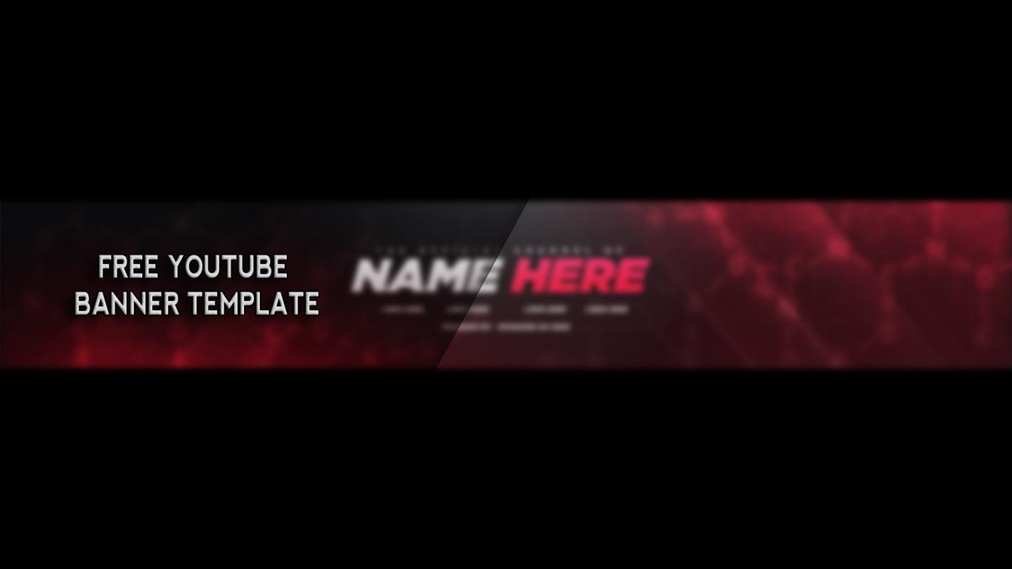 youtube banner template psd file by bymystiic on deviantart