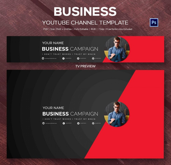 Youtube channel banner template shatterlionfo youtube channel banner template maxwellsz