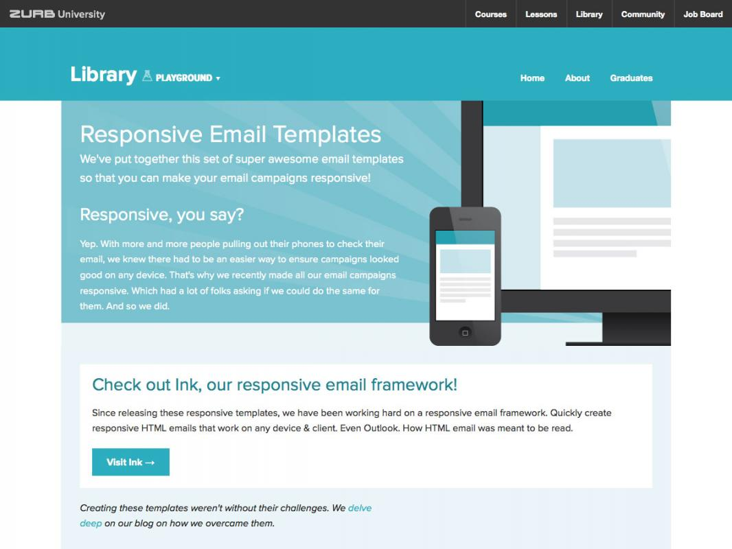 zurb email templates