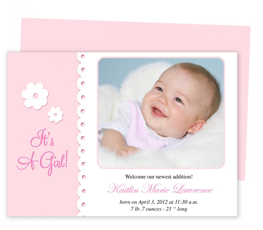 Baby Announcement Template | shatterlion.info