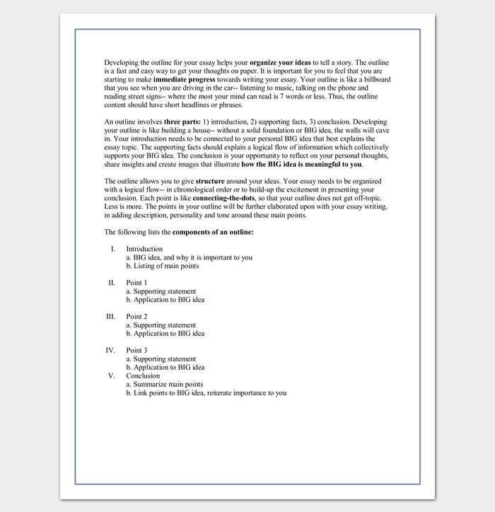 soccer essay outline By, sam snow us youth soccer director of coaching education every aspect of play coached at one age must be reinforced at the next age aspects taught at u6 must be taught again at u8, u10, and u12 and so on.