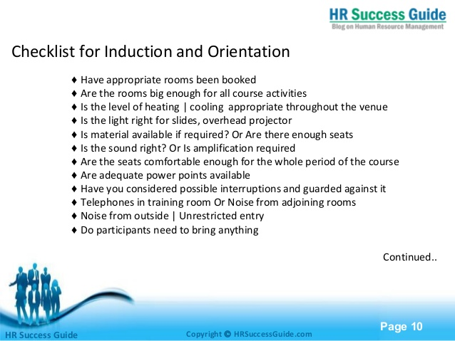importance of induction and orientation essay Hrm: employment and induction essay followed by induction's importance in some organisations then there employees with for example day one orientation.
