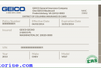 Fake Insurance Card Template Shatterlioninfo - Fake geico insurance card template