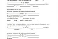 Free Lease Agreement Template Phrase  Free Lease Agreement Template Word Doc