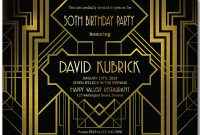 Great Gatsby Invitation Template Shatterlion Info