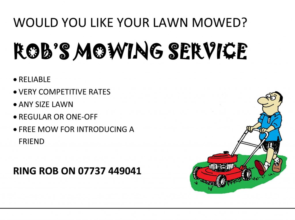 Lawn Care Flyer Template | shatterlion.info