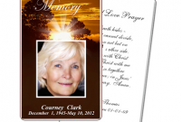 Memorial Cards For Funeral Template Free Shatterlioninfo - Memorial cards for funeral template