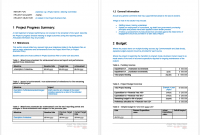 ms office report template