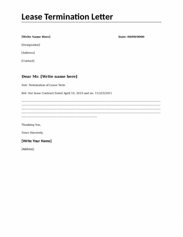 lease termination letter month to month lease termination letter template 15368