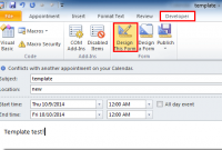 create email template outlook 2013