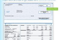 Pay Stub Template | shatterlion info