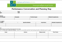 90 day performance review template