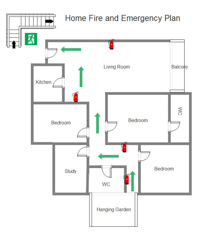 printable fire escape plan template printable daycare emergency preparedness plan template 24067
