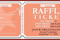 numbered raffle ticket template word