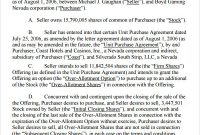 Stock Purchase Agreement Template | shatterlion.info